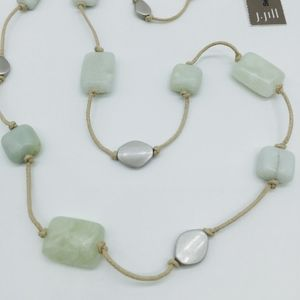 NWT J Jill Sea Breeze Amazonite /& Jade Bracelet